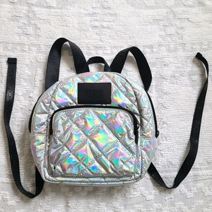VS PINK Holographic Backpack
